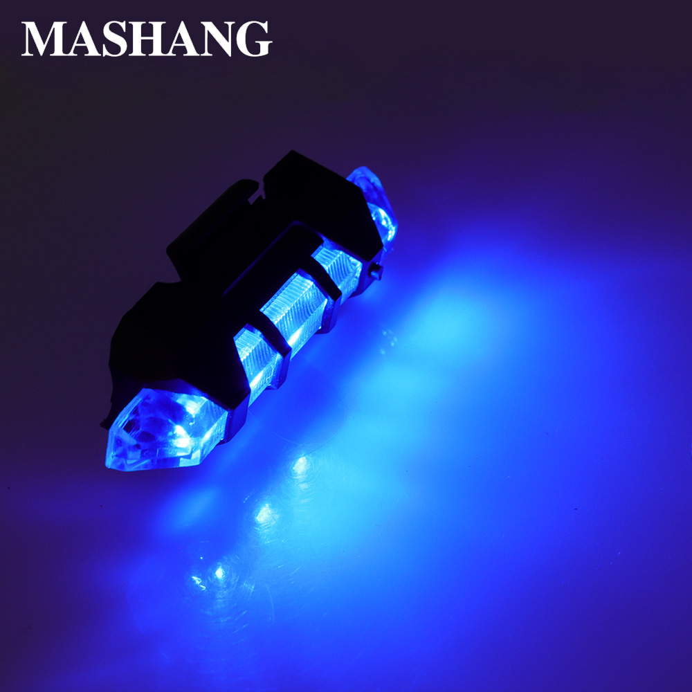 Emergency Light 4 Flash Modes Strobe Warning LED Lights Portable USB Rechargeable Flashlight Safety Lamp For Outdoor Bicycle Car