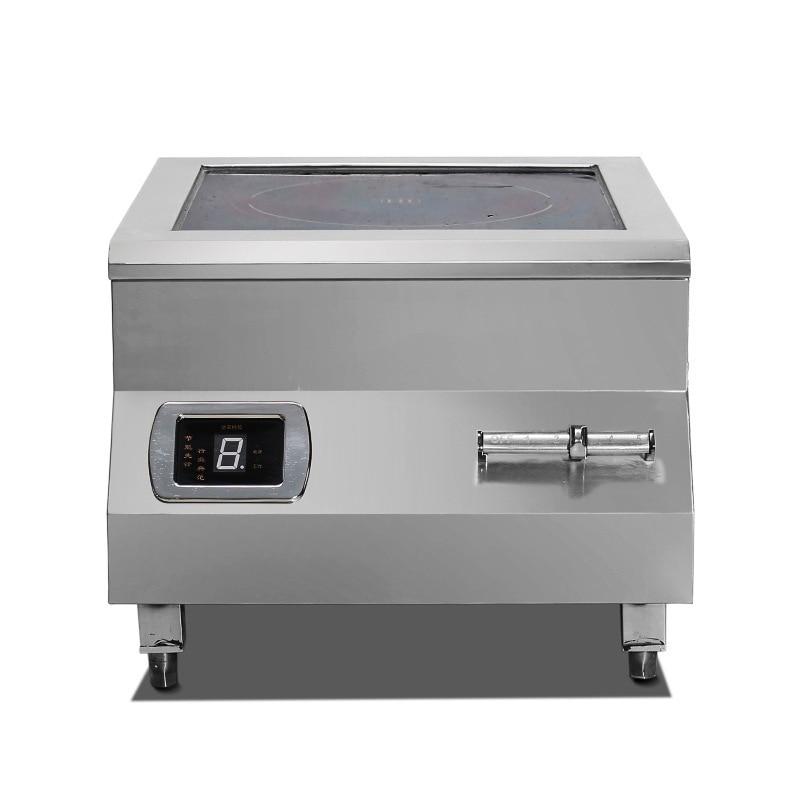 Высокомощная индукционная плита 8 кВт настольная электромагнитная печь для готовки ресторана кухни с плоским очагом Коммерческая печь 1
