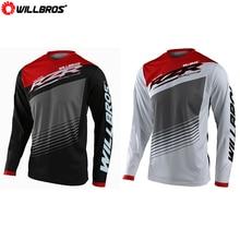 Jersey T-Shirt Offroad Motorbike Mountain-Bicycle GP Long-Sleeve Willbros Summer Polaris-Rzr