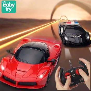2020 Boys Toys Racing Police Remote Control RC Car for Boys Xmas Birthday Gifts Light Electric Carro 1:24 Chidlren RC Toys 26 styles rc car transformation robots sports vehicle model robots toys remote cool rc deformation cars kids toys gifts for boys