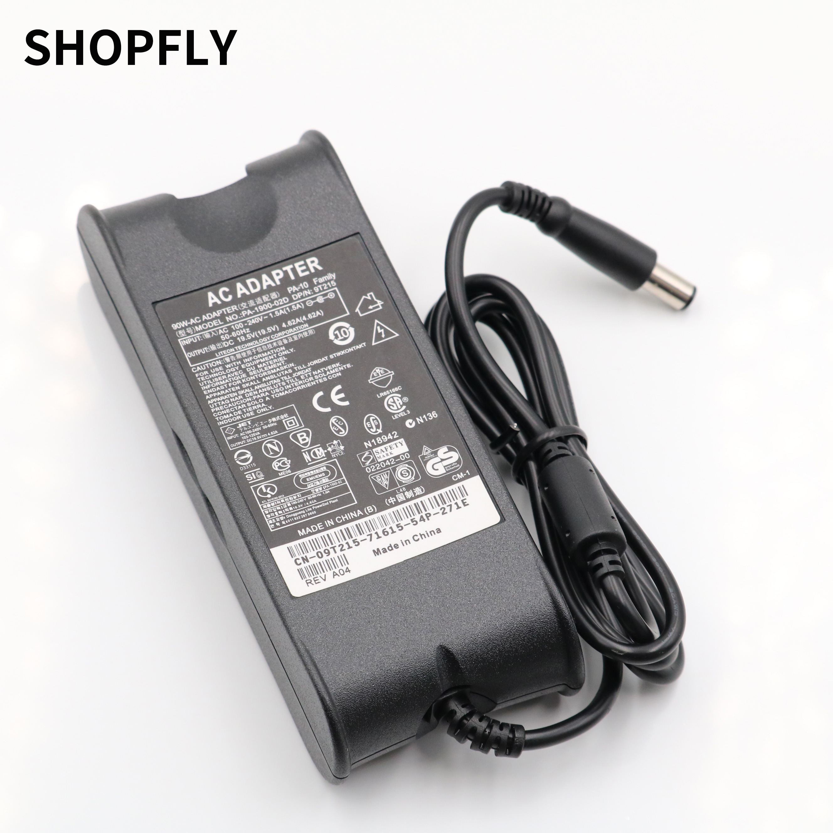 Dell Latitude E6320 E6330 E6400 E6430 E6410 E6420 E5440 E6520 D620 D630 E6530 Laptop Adapter 19.5V 4.62A Power Supply Charger