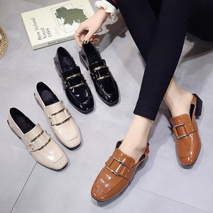 Image 5 - Designer Shoes Women Luxury 2020 Summer Woman Fashion Black Work Patent Leather High Quality Plus size Ladies Shoe Zapatos mujer