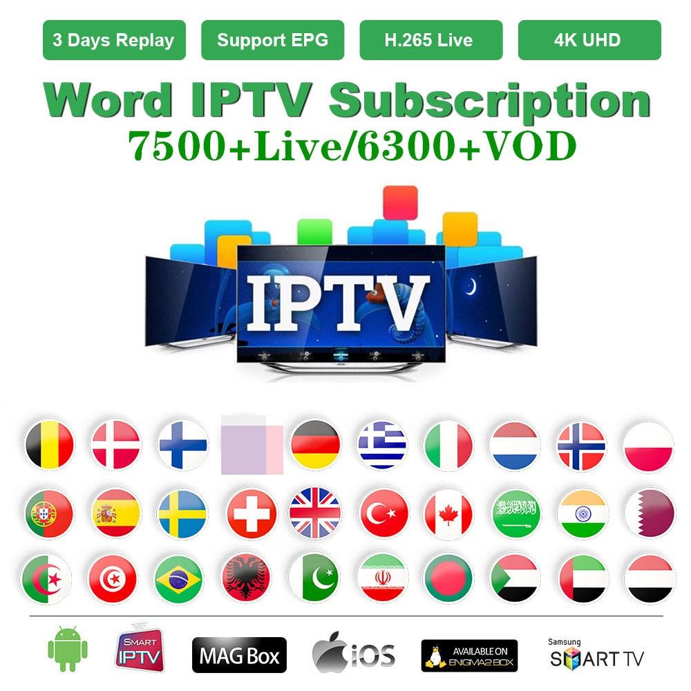 Stable World IPTV M3u Subscription Europe IPTV Spain Italy German  Poland Turkey For Smart TV Box Android PC Windows Etc.