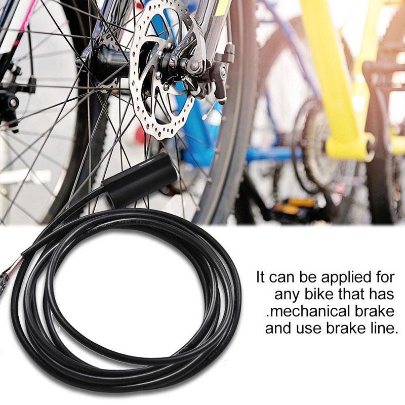 Electric Bike Brake Sensor Switch Connectors Electric Mechanical Useful