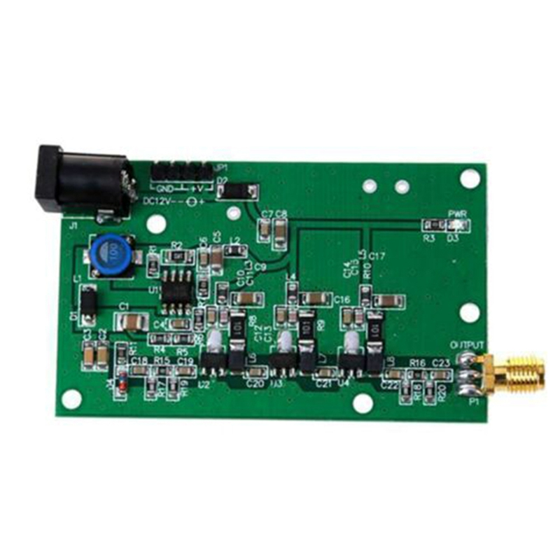 DC12V/0.3A Noise Source Moudle Simple Spectrum External Generator Tracking SMA Source