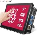 UPERFECT 7 Inch Raspberry Pi 4 TouchScreen Rasberry 3 Portable Monitor RasPi 2 Zero Display 1024x600 60Hz Raspberri Touch Screen