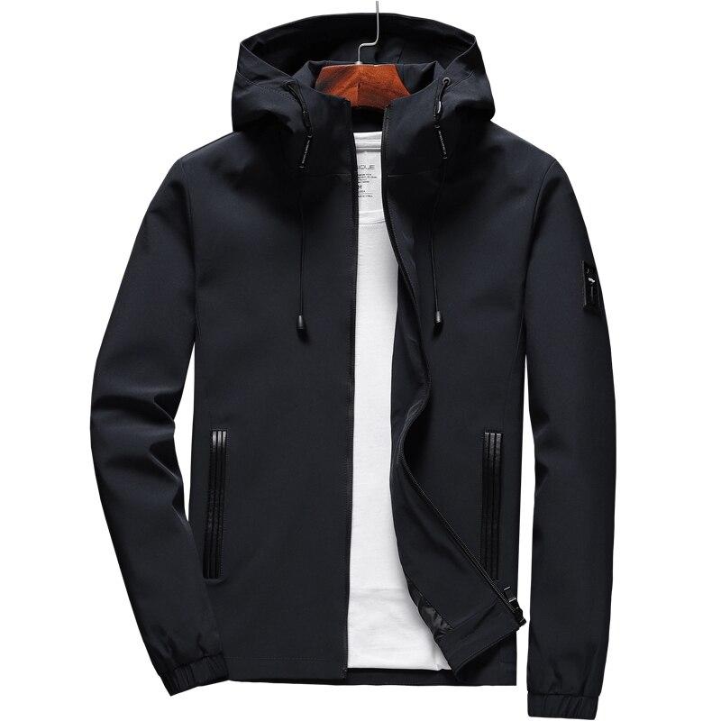 Capa De Chuva Impermeável Masculino leve com capuz jaqueta longa casaco de Chuva Capa Fitness