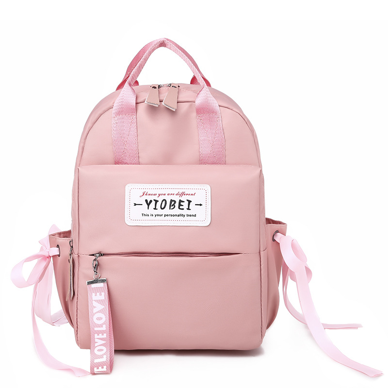 Oxford Cloth Backpack Women's 2019 New Style Korean-style Large-Volume College School Bag Casual Travel Multi-functional Backpac