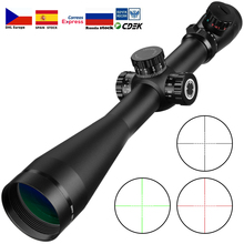 6 24x50 riflescope Tactical Optical Rifle Scope Sniper Hunting Rifle Scopes Long Range Airsoft Rifle Scope