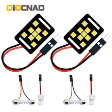 2x Car LED Interior Light T10 W5W Festoon C5W Auto Lamp Bulb For Fiat freemont 500 500L 500X albea ducato linea idea palio panda new pu leather auto universal front back car seat covers for fiat bravo 500x 500l fiorino qubo perla palio weekend siena