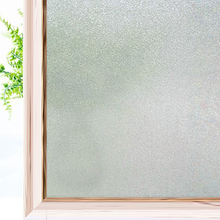Matte Frosted Privacy Window Film Non-Adhesive Glass Window Cling Anti UV Opaque Self Static Cling Glass Sticker for Home Office wxshsh privacy white cross non adhesive frosted window film removable static cling decorative glass sticker no glue uv blocking