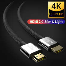 HDMI Cable 4K HDMI to HDMI 2.0 Cable Cord for PS4 Apple TV 4K 2K 3D Splitter Switch Box Extender PS4 60Hz Video Cable MOSHOU стоимость