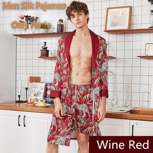 2020 hombres pijama pantalones seda mancha hombre Pijamas ropa interior pijama verano corto ropa de dormir Bottoms lujo hombres ropa
