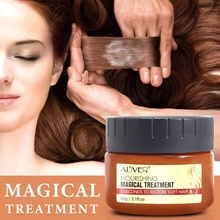 ALIVER Magic Hair Treatment Mask,Magic Hair Mask Nourishing Conditioner, 5 Seconds to Repair Damaged Roots, Suitable for Dry Hai