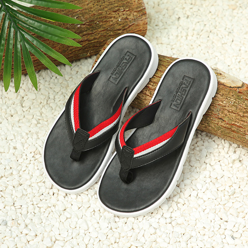 Hot Sale FZNYL Men Casual Flip Flops ummer Fashion Sandals Shoes Male Outdoor Breathable Travel Slippers Beach Slides Zapatos De Hombre