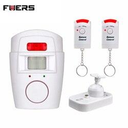 Система охранной сигнализации для дома беспроводной инфракрасный датчик движения из pir детектор с 2 шт пультом дистанционного управления д...