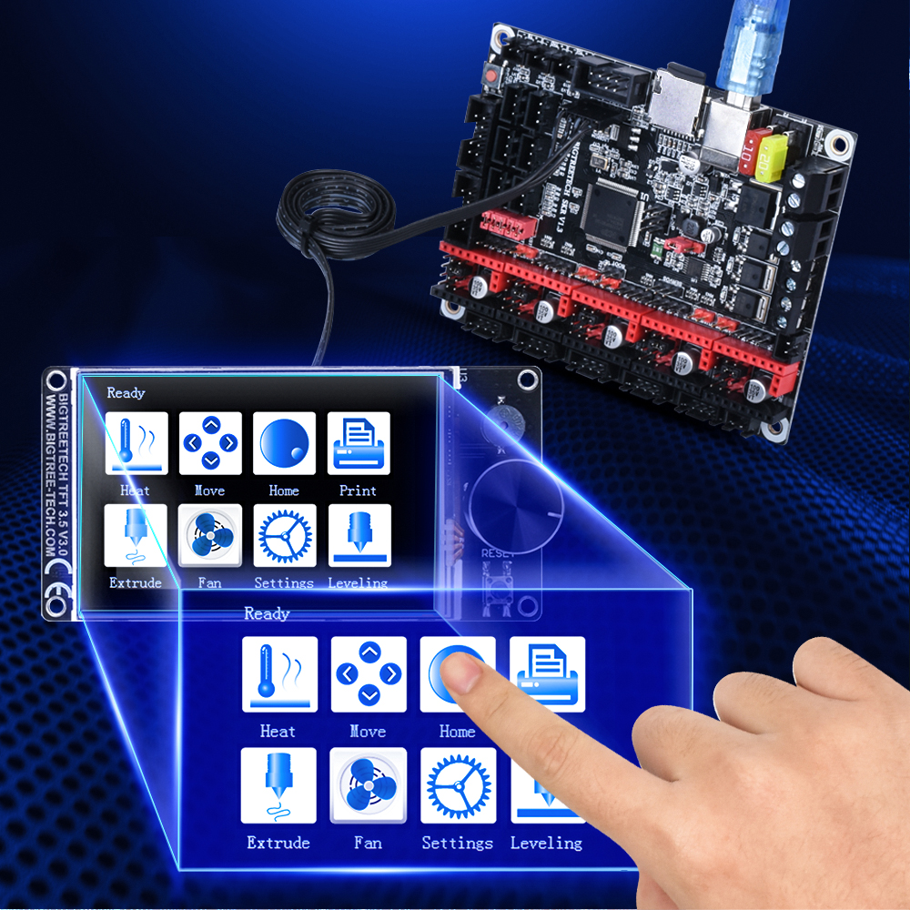 BIGTREETECH TFT35 Touch Screen for 3D Printer Supports SD Card and U-Disk Printing Mode 5