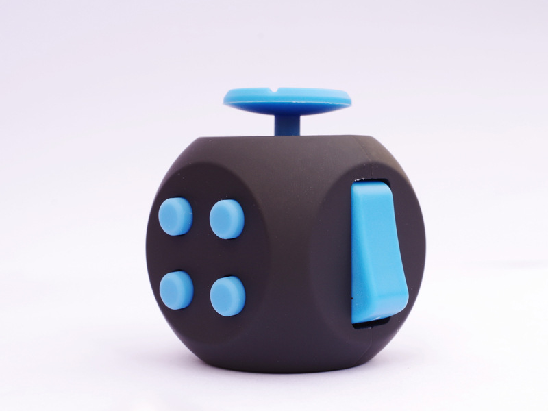 EDC Hand For Autism ADHD Anxiety Relief Focus Kids 6 Sides Anti-Stress Magic Stress Fidget Cube Toys