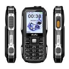6800mah power bank telefone móvel tocha magia voz discagem de velocidade cor led gsm telefones celulares fm rádio barato teclado russo celular