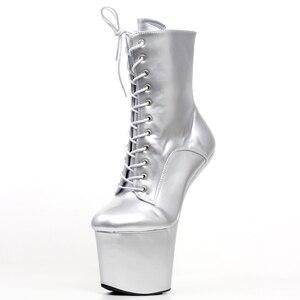 Image 4 - Jialuowei Funtasmaเซ็กซี่Fetishสิทธิบัตรรองเท้าส้นสูงแพลตฟอร์มฮาโลวีนบัลเล่ต์รองเท้าเหมาะสำหรับฮาโลวีน,Goth,Abby,vamp Plusขนาด