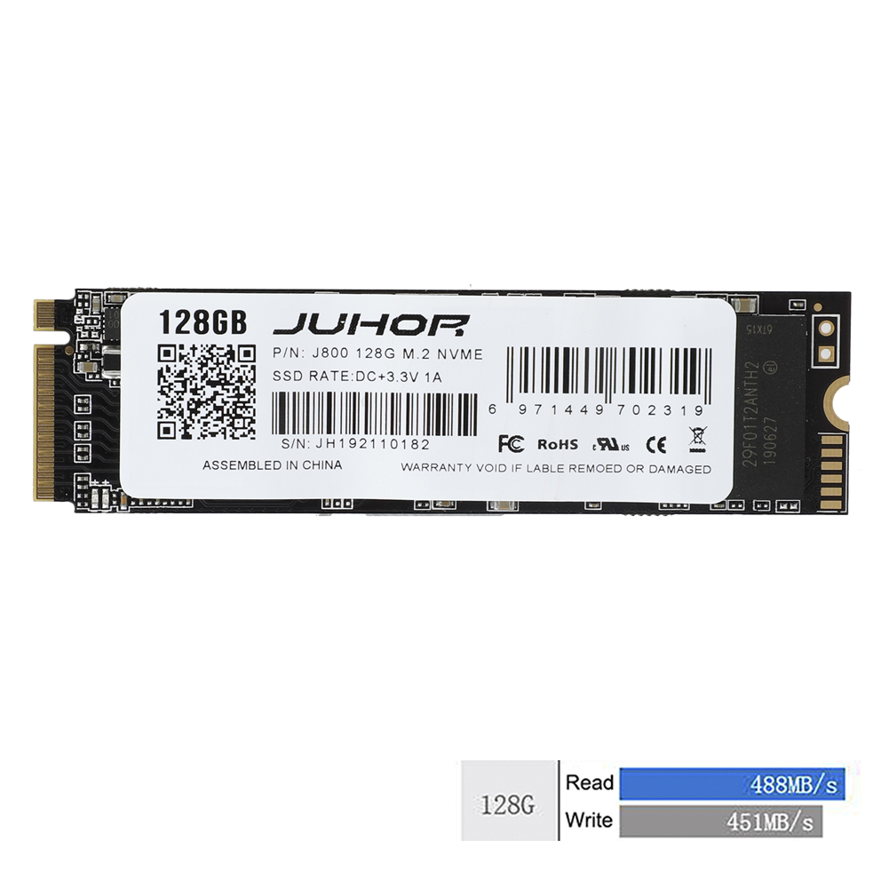 For Juhor M.2 ssd M2 PCIe NVME 120GB 500GB Solid State Drive 2280 Internal Hard Disk hdd for Laptop Desktop
