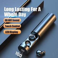 B9 tws ecouteur bluetooth fone de ouvido sem fio fones de ouvido sem fio fone alta fidelidade do esporte com micron