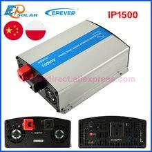 EPever 1500W czysty sinus falownik sinusoidalny 12V24V wejście 110V 120V 220V 230VAC wyjście 50HZ 60HZ wysokiej wydajności konwerter IPower IP1500