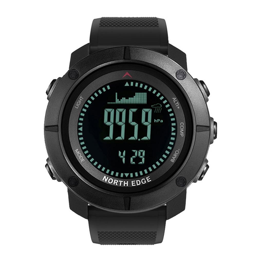 NORTH EDGE Men Intelligent Digital Watch Wristwatches Waterproof Sports Multifunctional Watch
