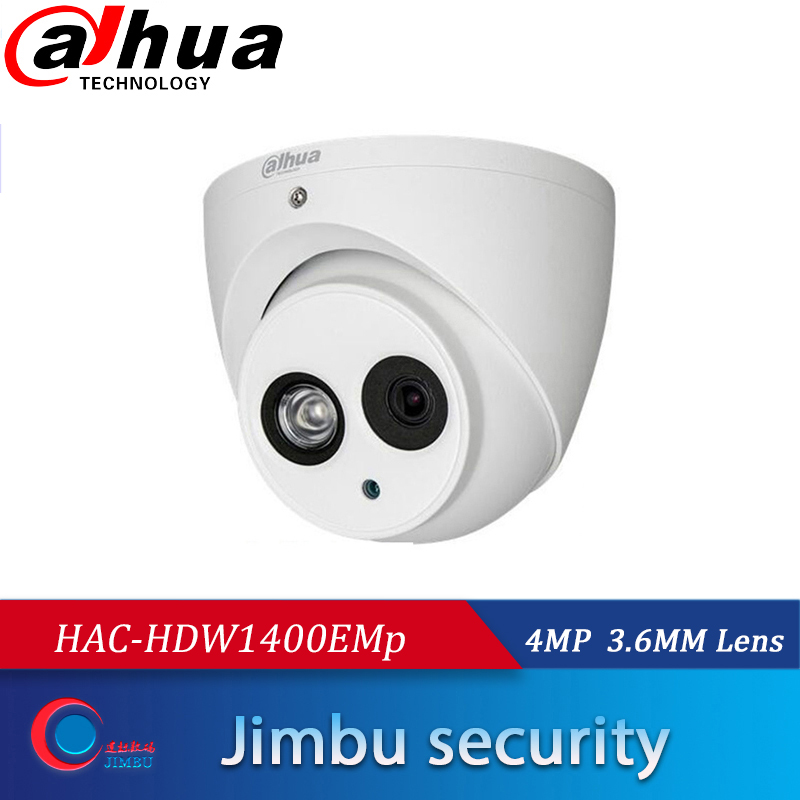 dahua DH HAC HDW1400EMp 4mp dome HDCVI camera IR50m IP67 metal body  Multi language BLC / HLC / DWDR Original DH HAC HDW1400EM|Surveillance Cameras| |  - title=