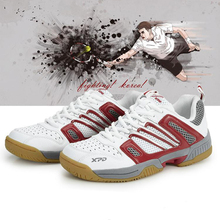 New 2019 Badminton Shoes For Men Light Breathable Professional Training Shoes High Quality Womens Non-slip Sports Sneakers li ning women s professional cushion badminton training shoes breathable sneakers lining double jacquard sports shoes aytm078