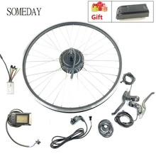 Когда-нибудь Электрический велосипед конверсионный комплект 36V350W задняя Кассетная ступица мотор с OMT-M3 дисплеем спицы и обода