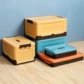 Складная коробка для хранения, органайзер для одежды, игрушек, книг, пластиковая коробка для инструментов, багажник автомобиля, для путешес...