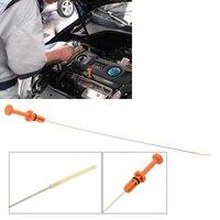 Aço inoxidável 565mm substituição de óleo do motor automático dipstick para peugeot 106 206 306 307 117475|Óleo do motor|Automóveis e motos -