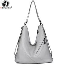 Fashion Women Hobo Handbags Luxury Brand ladies large tote bag Designer Multifunction Bag Large Leather Shoulder Bags For