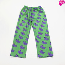 Design Autumn Original New Purple Frog Funny Print Wide Leg