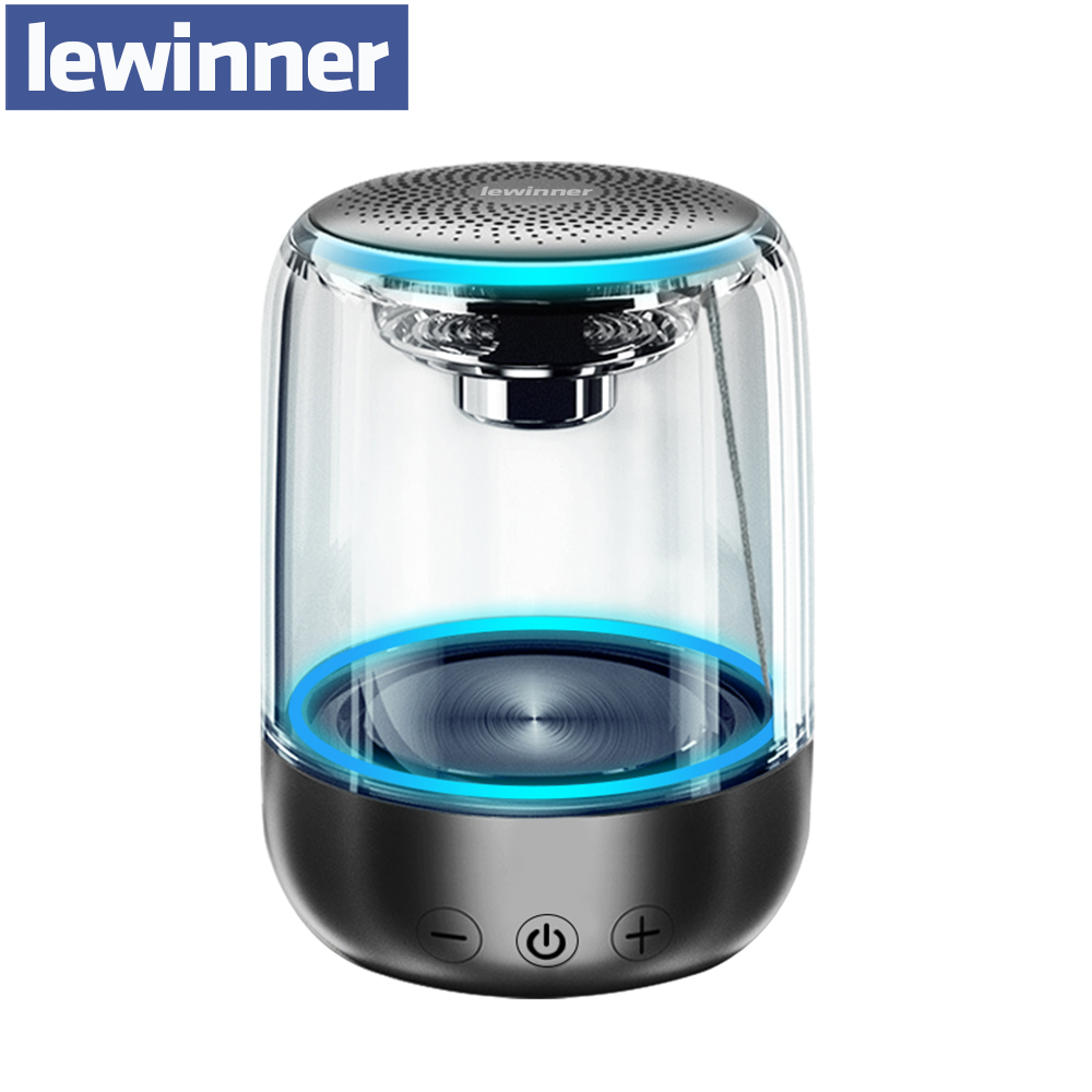 Lewinner C7 Portable Wireless Bluetooth Speaker Mini Colorful Light Portable Music Sound Box Handsfree Outdoor Bass Subwoofer