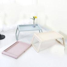 Креативный складной компьютерный стол японский стиль ноутбук ленивая кровать китайский мобильный стол