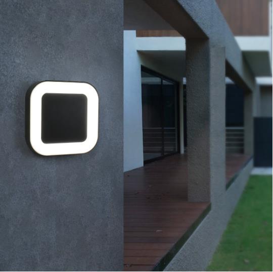 exterior 40 led lampadas de parede ao 02