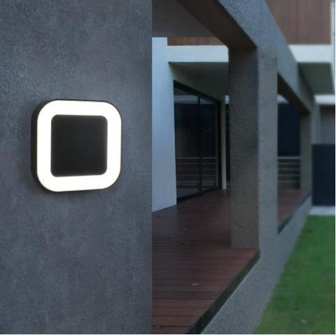 exterior 40 led lampadas de parede ao