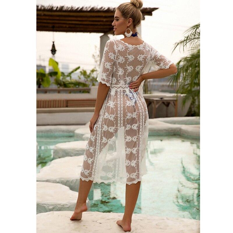 New Kimonos Beachwear Hand-Woven  Women Swimwear  3