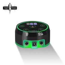 Professional Digital Tattoo Power Supply Updated Mini AURORA II LCD Tattoo Supplies for Tattoo Machine