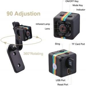 Image 2 - Mini kamera Sq11 HD 1080P g sensor gece görüş kamera hareket DVR mikro kamera spor DV Video küçük kamera kamera SQ 11 Spycam