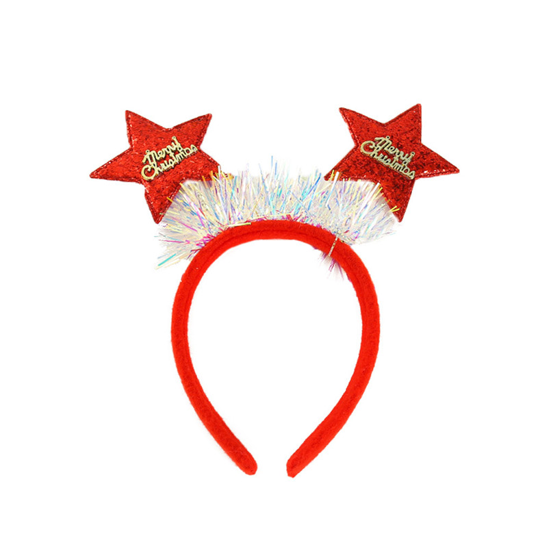 New Year Kid Christmas Party Antlers Headband Headclip Accessories Sweet Children Headband barettes fille enf 30DE15 (2)