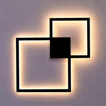 Zerouno Decorative modern LED Wall Lamp DIY background light indoor for home interior TV Wall Lights lounge living Room bedroom 7