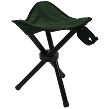 купить Folding Tripod Stool Outdoor Portable Camping Seat Lightweight Fishing Chair NEW дешево
