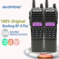 128ch 5w vhf uhf 2pcs 100% המקורי Baofeng UV-82 פלוס מכשיר הקשר 5W לונג סוללה 3800mAh 128CH UHF & רדיו סורק VHF comunicador WALKY טוקי (1)