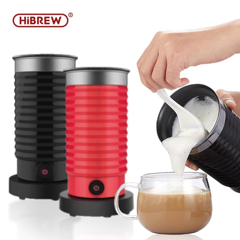 HiBREW MF04 Foaming Milk Machine Cold/Hot Dual Use Full Automatic Household Hot Chocolate Machine 400W EU/UK Plug