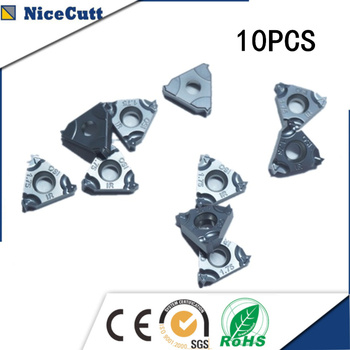 10pcs 11IR2.00 ISO High quality Stainless Steel Insert Threaded Thread Cutter for SNR tool holder Freeshipping Nicecutt