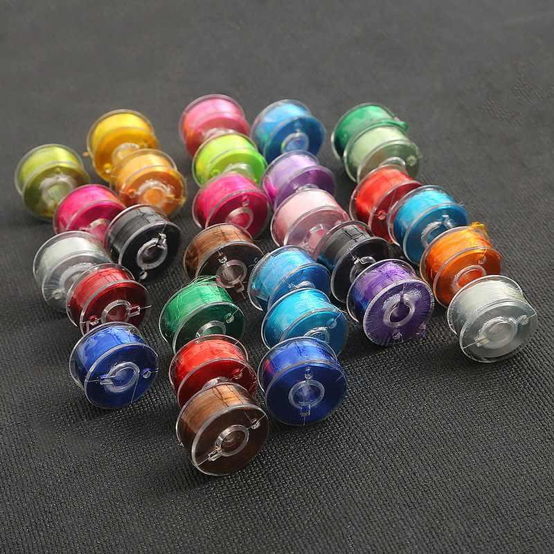 New Arrival 60 metrów/rolka Multicolor jasny lodowy jedwab nici do szycia nici haft krzyżykowy nici do DIY Handmade Supplie