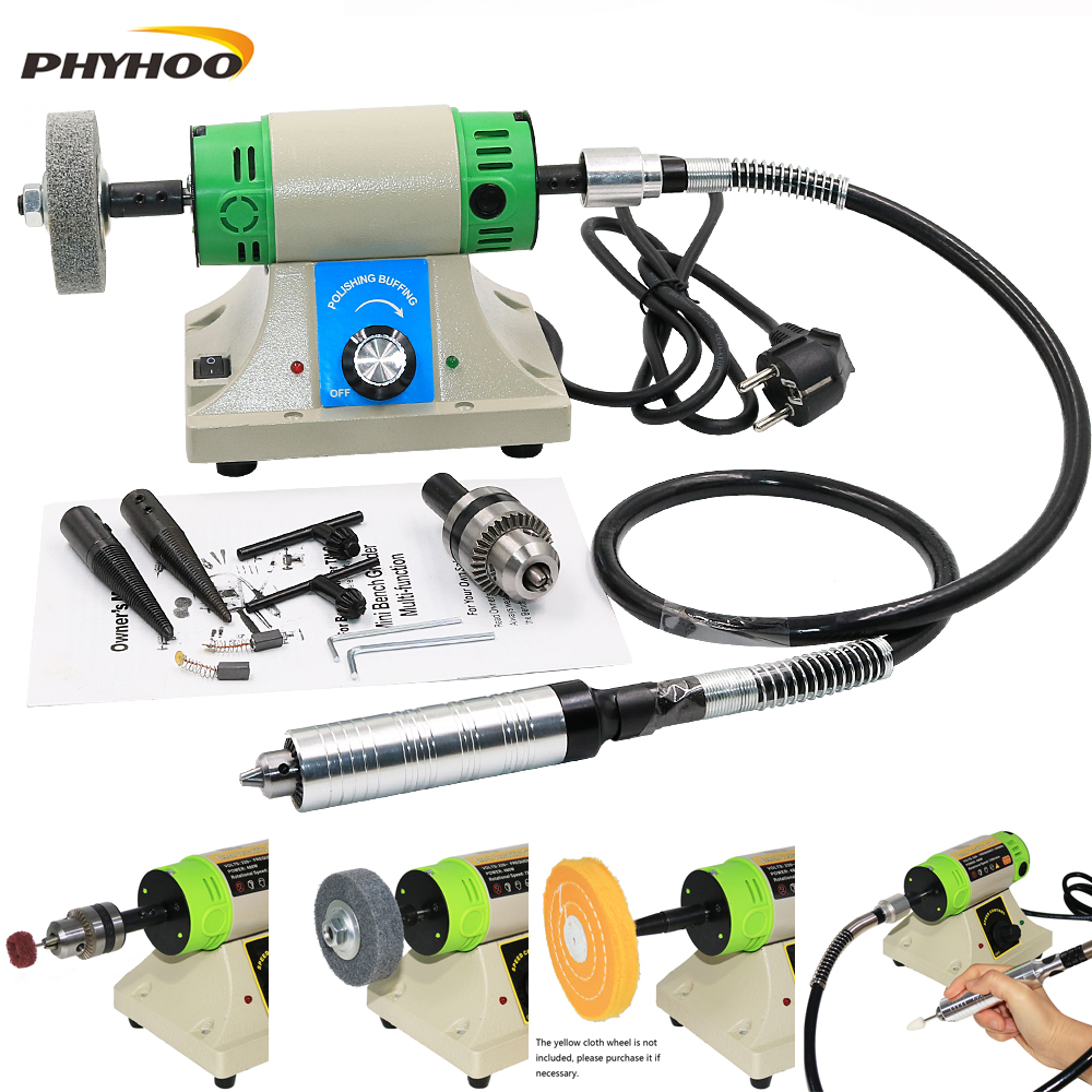 Multi-function Use Desktop Grinding Machine Polishing Carving Jewellery Making Tool Set